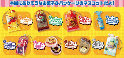 NEW Pokemon Re-ment Candy & Snack Mascot figure keychain OFFICIAL MERCHANDISE