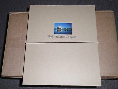 "Longaberger ""LONGABERGER PRESENTATION FOLDERS"", (SET of 4) NEW !!!"