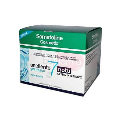Somatolin Cosmetic - Snellente 7 Notti Gel Fresco da 400 ml - Ultra intensivo