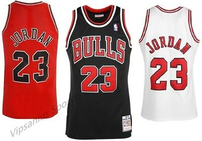 Chicago Bulls Michael Jordan NBA Basketball Swingman Jersey - 3 colours S - XXL