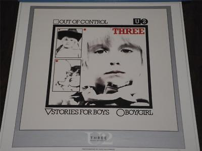 U2 Three Out Of Control Numbered 40/250  Lithograph Super Rare!!! Stunning