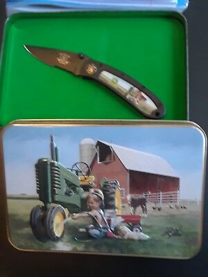 John Deere Buck/Pocket Knife