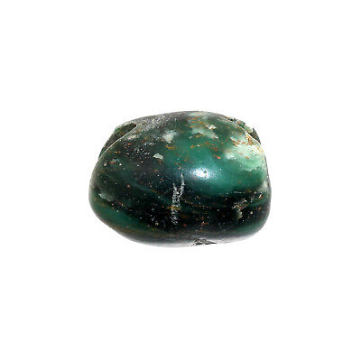 (2145)  Serpentine West African Ancient Stone Bead