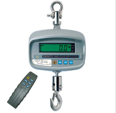 CAS NC-1-500, 500 x 0.1 lb, LCD Display, NTEP - Legal for Trade