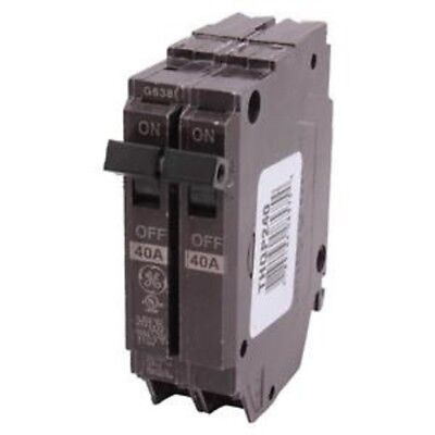 Ge 40 Amp Double-Pole Plug In Breaker