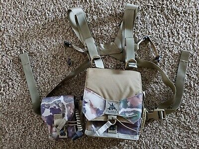 FHF Gear Bino Harness Pro + Rangefinder pouch and lanyard