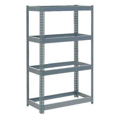 "Boltless Extra Heavy Duty Shelving 36""W x 24""D x 60""H, 4 Shelves, No Deck, Lot"