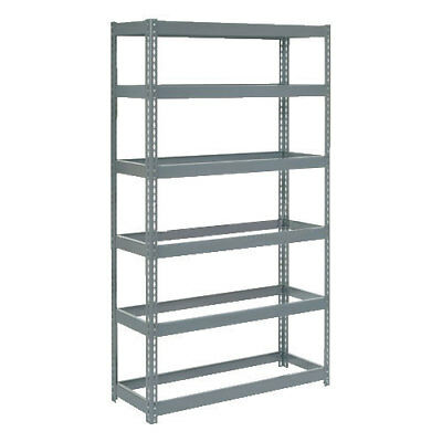 "Boltless Extra Heavy Duty Shelving 48""W x 18""D x 84""H, 6 Shelves, No Deck, Lot"