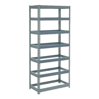 "Boltless Extra Heavy Duty Shelving 36""W x 12""D x 84""H, 7 Shelves, No Deck, Lot"