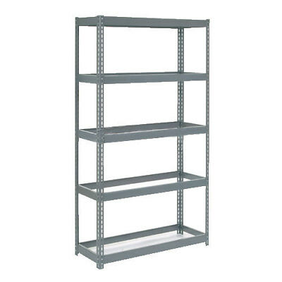 "Boltless Extra Heavy Duty Shelving 48""W x 24""D x 84""H, 5 Shelves, No Deck, Lot"