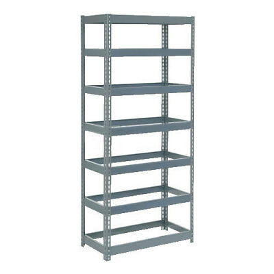 "Boltless Extra Heavy Duty Shelving 36""W x 18""D x 96""H, 7 Shelves, No Deck, Lot"