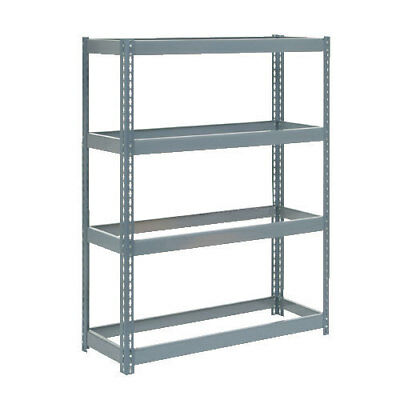 "Boltless Extra Heavy Duty Shelving 48""W x 12""D x 72""H, 4 Shelves, No Deck, Lot"