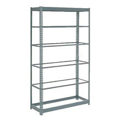"Boltless Heavy Duty Shelving 48""W x 12""D x 72""H, 6 Shelves, No Deck, Lot of 1"