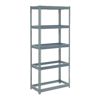 "Boltless Extra Heavy Duty Shelving 36""W x 12""D x 72""H, 5 Shelves, No Deck, Lot"