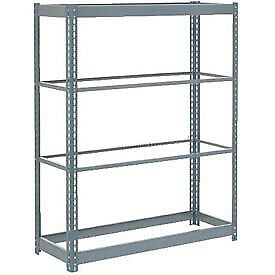 "Boltless Heavy Duty Shelving 48""W x 18""D x 72""H, 4 Shelves, No Deck, Lot of 1"