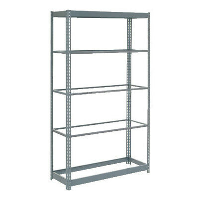 "Boltless Heavy Duty Shelving 36""W x 18""D x 72""H, 5 Shelves, No Deck, Lot of 1"