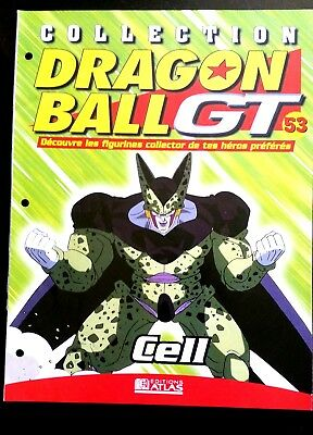 Collection Dragon Ball GT n°53 - Editions Atlas - Cell -