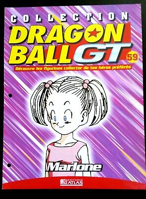 Collection Dragon Ball GT n°59 - Editions Atlas - Marlone -