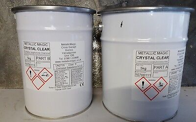 5 Kg (Uv Stable  Crystal Clear  Epoxy Resin