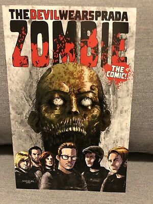 The Devil Wears Prada Zombie Comic Rare