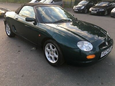1999 'T' MGF 1.8L 120,   Spares or repair,  Private plate included,  No reserve.