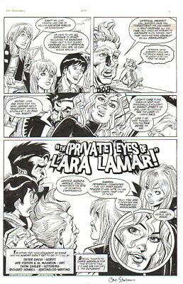 Soulsearchers 2006 Original Art-Joe Staton/ Al Milgrom--Private Eyes!