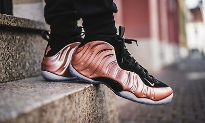 NIKE AIR FOAMPOSITE ONE RUST PINK   WHITE-BLACK 314996-602 Size 10.5 ... c61b106d5