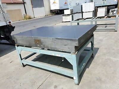 "Surface Plate Granite With Stand  48""X72"" x 10"""