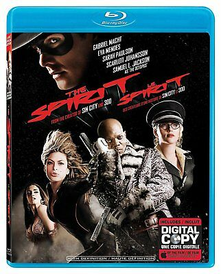 USE BLU RAY+DIGI - THE SPIRIT - Gabriel Macht, Samuel L. Jackson, Sarah Paulson