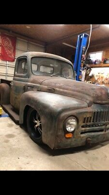 1950 Chevrolet Other Pickups  1950 international hot rod/rat rod truck/patina/air ride/bagged