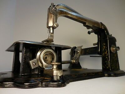 Antique / Vintage Wheeler & Wilson Sewing Machine Head Bridgeport Ct , Nice Old