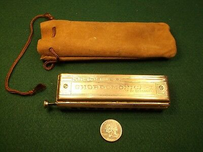 #14 of 22, FROM A VINTAGE ANTIQUE PRO'S HARMONICA COLLECTION, CHORDOMONICA - I