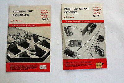 "Two Vintage RAILWAY MODELLER 'Shows you How"" booklets. Nos. 2 & 7."