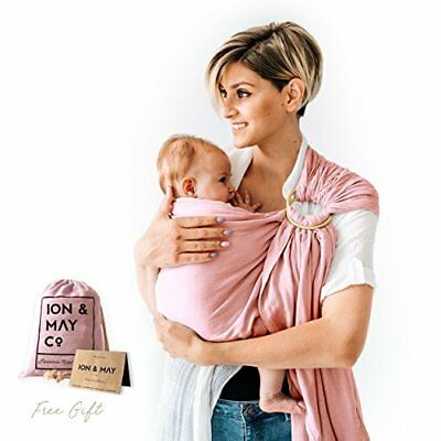 Baby Carrier Wrap Super Soft And Breathable Bamboo Baby Ring Sling