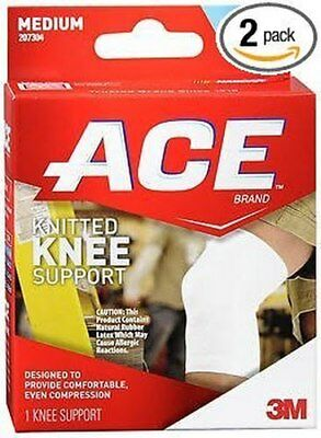 Ace Knee Brace Support #7304, Medium - 1 Each (Pack Of 2)