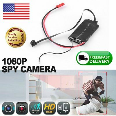 HD 1080P Spy Hidden Camera USB Wall Charger Adapter Video Recorder Security CamT
