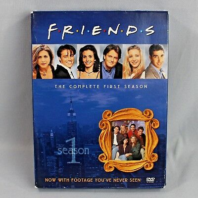 Friends The Complete First Season Deluxe 4 Disc DVD Set 2002 Standard Version
