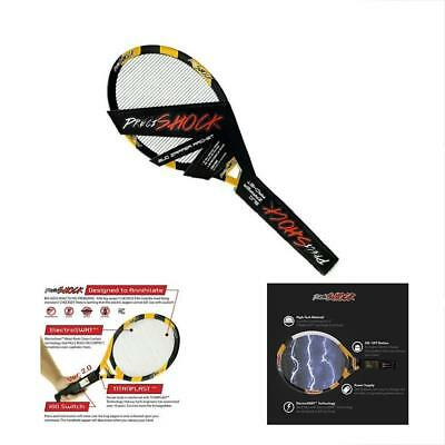 Bug Zappers Electric Fly Swatter Racket- 3000 Volt Handheld Zapping That Kills