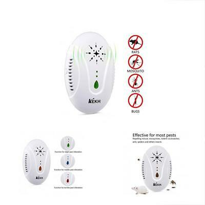 Repellents KEKH Pest Control Ultrasonic Plug In, Best Electronic Insect Repeller
