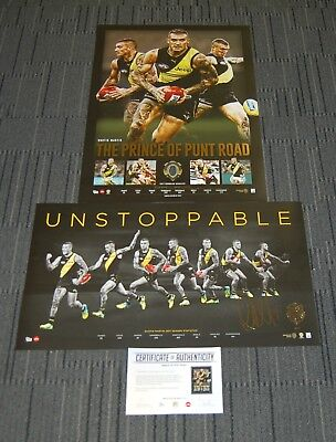 Dustin Martin Richmond Tigers 2017 Afl Brownlow Premiers Norm Smith Afl Prints