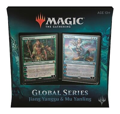MTG Magic - Global Series Planeswalker Decks - Jiang Yanggu & Mu Yanling