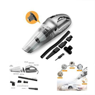 WetDry Vacuums Car Cleaner Portable Handheld Auto High-Power 5.0K Pa 120 Suction