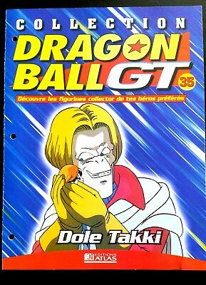 Collection Dragon Ball GT n°35 - Editions Atlas - Dole Takki  -