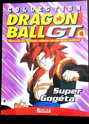 Collection Dragon Ball GT n°4 - Editions Atlas - Super Gogéta -