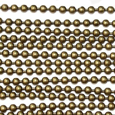 2.4mm Ball Chain Antique Bronze x 5 Metres (1977)