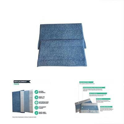 HAAN SI-25 Washable Micro-Fiber Blue Steam Mop Pads Fits SI-25, SI-40, SI-60, Or