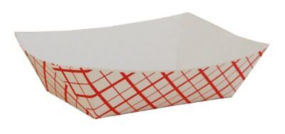 1000 Paper Food Tray 1/2lb Fries Nacho Vegetables Snack Concession #50
