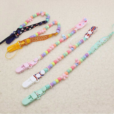 2018 Hot Pacifier Clip Holder Soothie Teething Paci Baby Products Girl Boy Funny