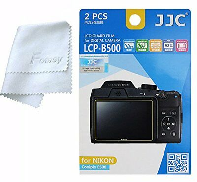 JJC LCP-B500 Anti-Reflection LCD Guard Film Screen Protector for NIKON Coolpix