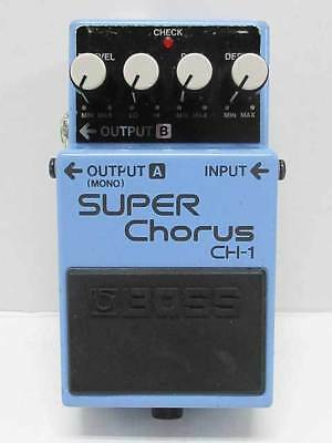 BOSS CH-1 / SUPER Chorus used effects pedal (181